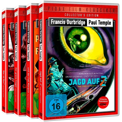 Francis Durbridge: Paul Temple - Gesamtedition