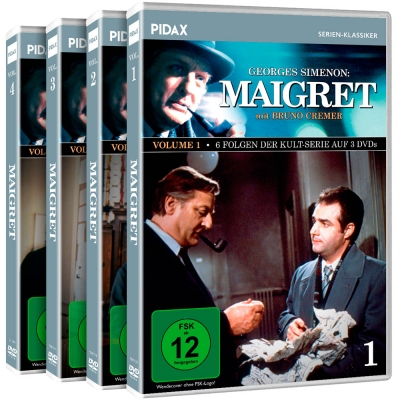 Maigret - Vol. 1-4 - Gesamtedition