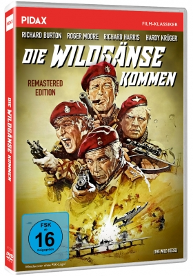 Die Wildgänse kommen (The Wild Geese) - Remastered Edition