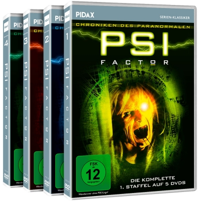 PSI Factor - Chroniken des Paranormalen - Gesamtedition