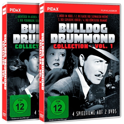 Bulldog Drummond Collection - Gesamtedition