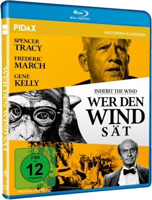Wer den Wind sät (Inherit the Wind) (Blu-ray)