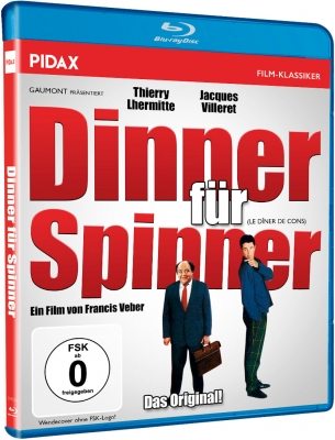 Dinner für Spinner (Le dîner de cons) (Blu-ray)