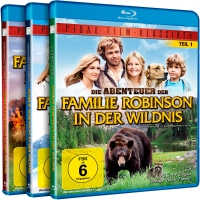 Familie Robinson in der Wildnis - Gesamtedition (Blu-ray)