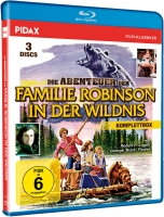 Familie Robinson in der Wildnis - Komplettbox (Blu-ray)