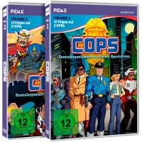 C.O.P.S. (COPS) - Vol. 1-2 - Gesamtedition