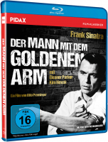 Der Mann mit dem goldenen Arm (The Man with the Golden Arm) (Blu-ray)