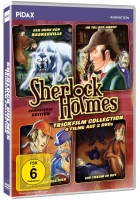 Sherlock Holmes Trickfilm Collection (4 Filme)